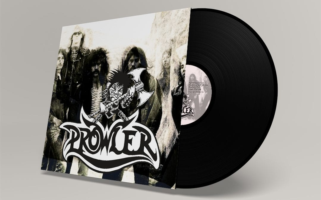 Mal was anderes: LP Cover & Label für Prowler