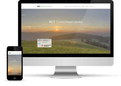 RCE Südschwarzwald, Website & Newsletter