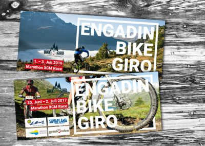 Sauser, Corporate Design Engadin Bike Giro