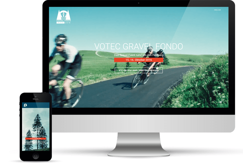 Votec Gravel Fondo, Website