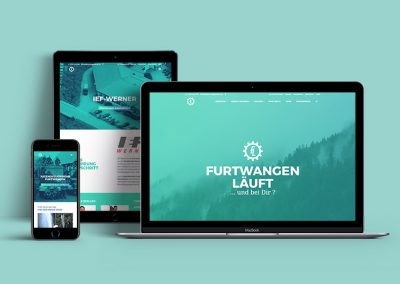 Furtwangen läuft, Karrierewebsite / Employer Brand