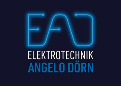 Elektrotechnik Angelo Dörn, Corporate Design & Website